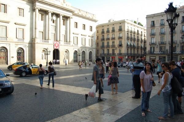Площадь Сан-Жауме