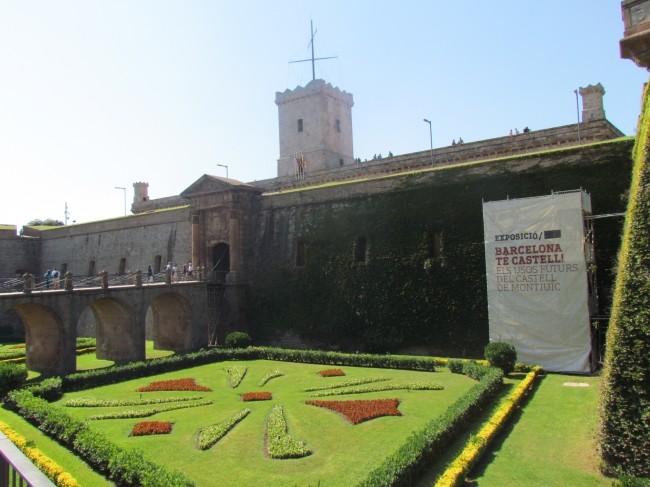 Замок Монжуик