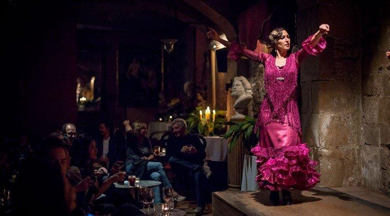 Фламенко в Palau Dalmases