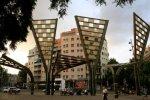 Площадь Виррей Амат в районе Ноу Баррис