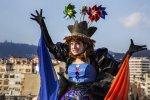 Королева Белуга - главный персонаж карнавала в Барселоне