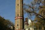 На площади квартала Грасия. Часовая башня