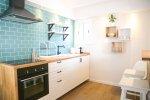 Кухня в апартаментах