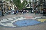 Мозаика Миро на улице Ла Рамбла