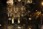 Дом Бальо в огнях ночного города