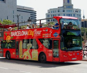 Автобус на одном из маршрутов