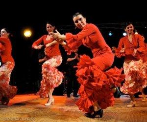 Вечерняя Барселона и Фламенко