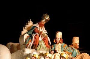 Парад трех королей в Барселоне