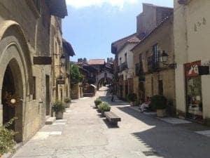 Улочки деревни