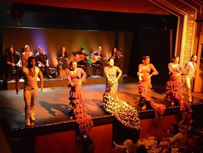 """Шоу в """"Palacio del Flamenco"""""""