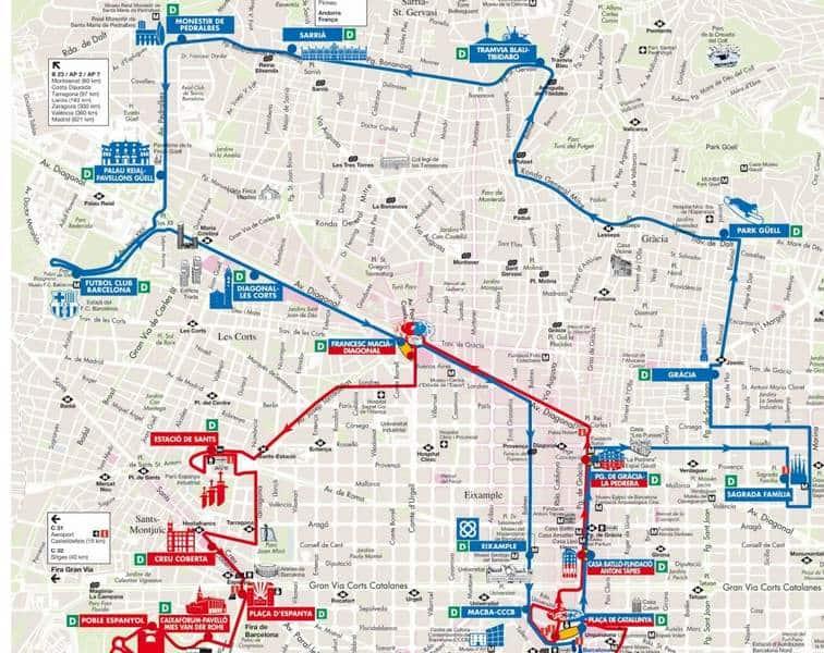 Синий маршрут