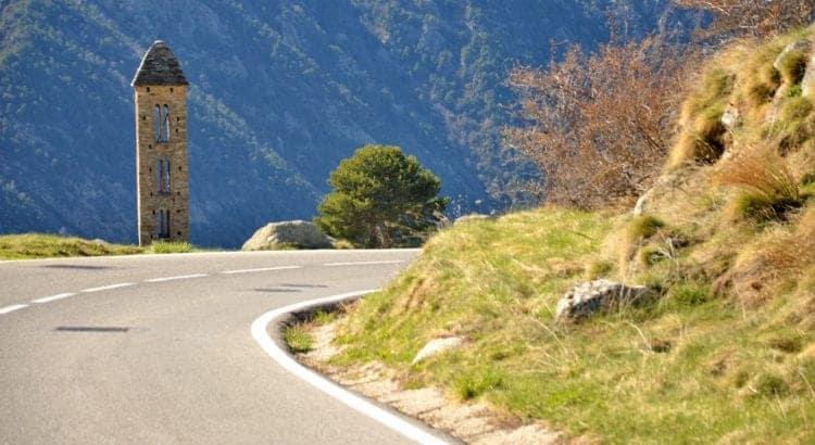 Дорога в Андорра де ла Велья