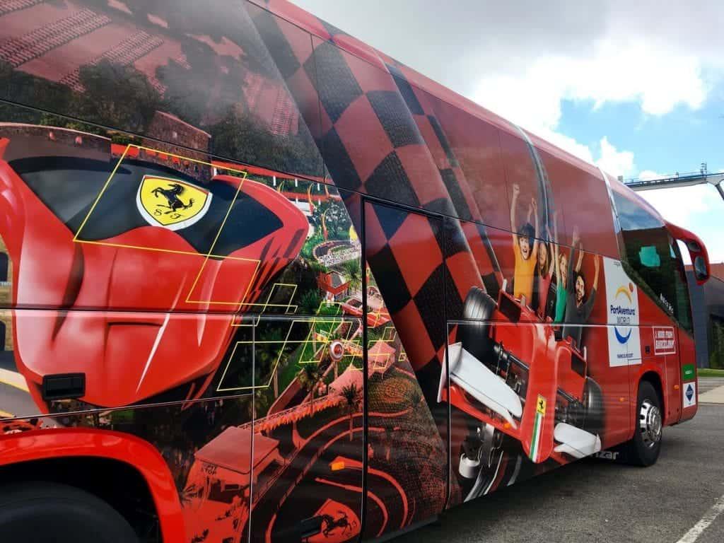 Автобус в Порт Авентуру