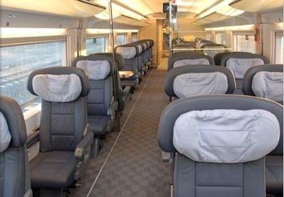 """Вагон """"Премиум"""" класса в поезда AVE"""