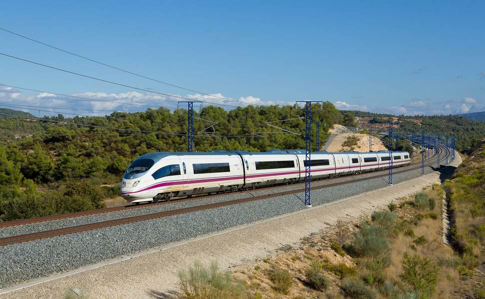 Скоросной поезд Барселона - Мадрид