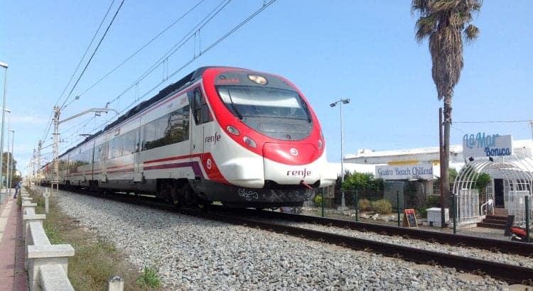 Поезд в Бланес из Барселоны