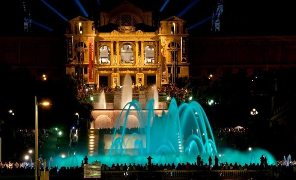 Волшебные фонтаны Монжуик