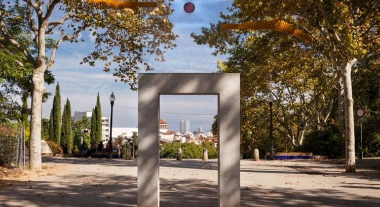Барселона осенью
