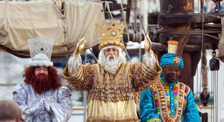 Праздник 3 королей в Барселоне