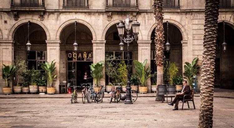 Барселоне поздней осенью