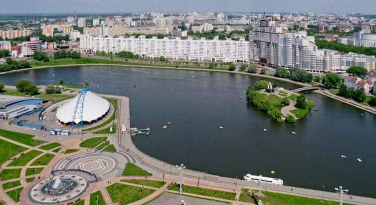 Минск, Немига