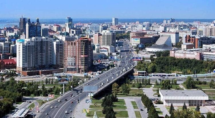 Панорама Новосибирска