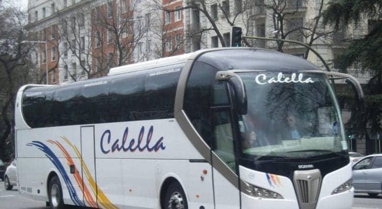 Автобус в Калелью