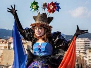 Главная героиня карнавала Барселоны 2016 года
