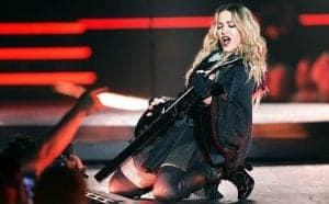 Мадонна на концерте в Барселоне