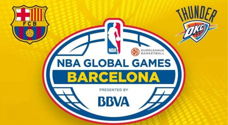 NBA Global Games. Барселона - Оклахома