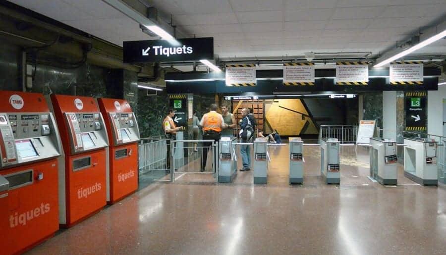 Покупка билетов в метро