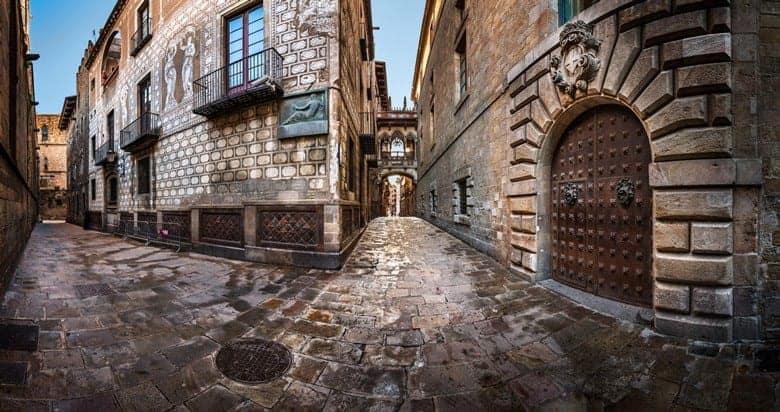 Улочки готического квартала